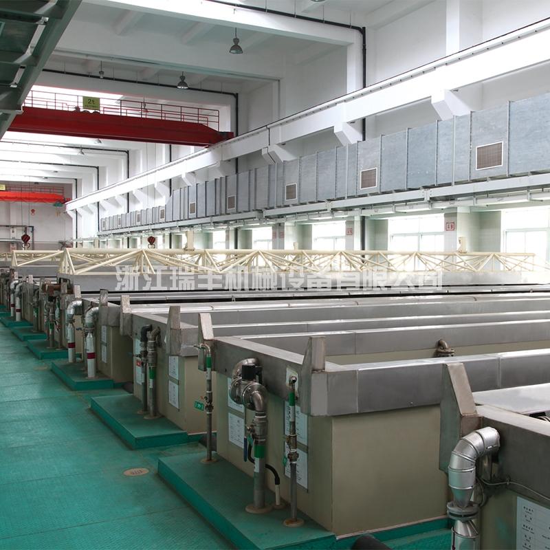 12米长大型氧化生产线