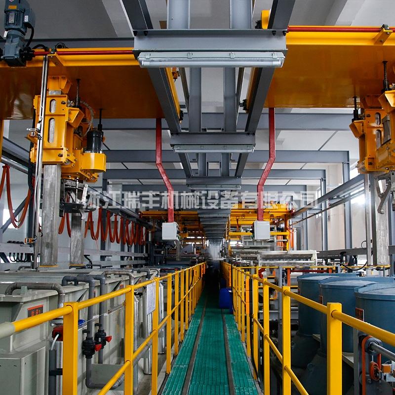 智能滚镀机械手钝化自动生产线