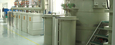 Indoor sewage treatment station